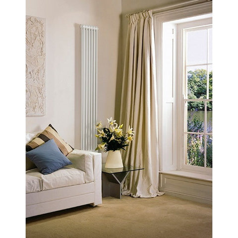 Bisque Classic 2 Column Radiator - 742mm High x 486mm Wide