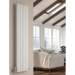 Cove Double Vertical Radiator - 1800mm High x 413mm Wide