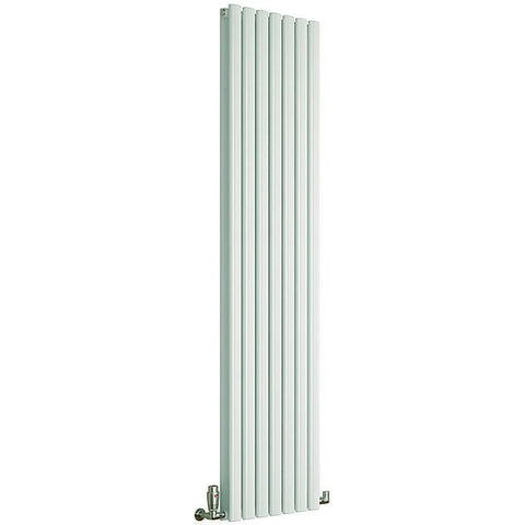 Cove Double Vertical Radiator - 1500mm High x 295mm Wide