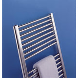 Deline Chrome Towel Rail - 1226mm H x 600mm W