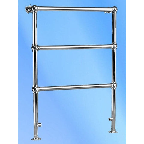 Eastbury Towel Rail - 952mm High x 680mm Wide - Chrome