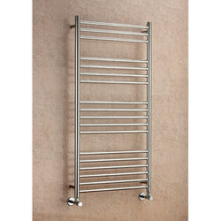 Lanark Straight Towel Rail - 800mm H x 600mm W
