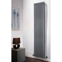 Vulcano Double Vertical High Output Radiator - 1471mm High x 320mm Wide