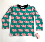 Organic pigs long sleeve T-Shirt