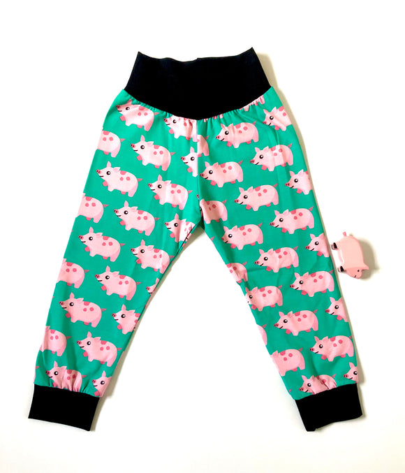 Organic Pigs cuffed trousers