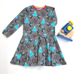 Organic Science Long sleeve twirly dress