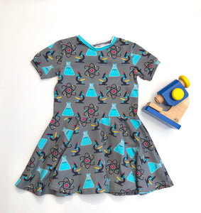 Organic Science Short sleeve twirly dress