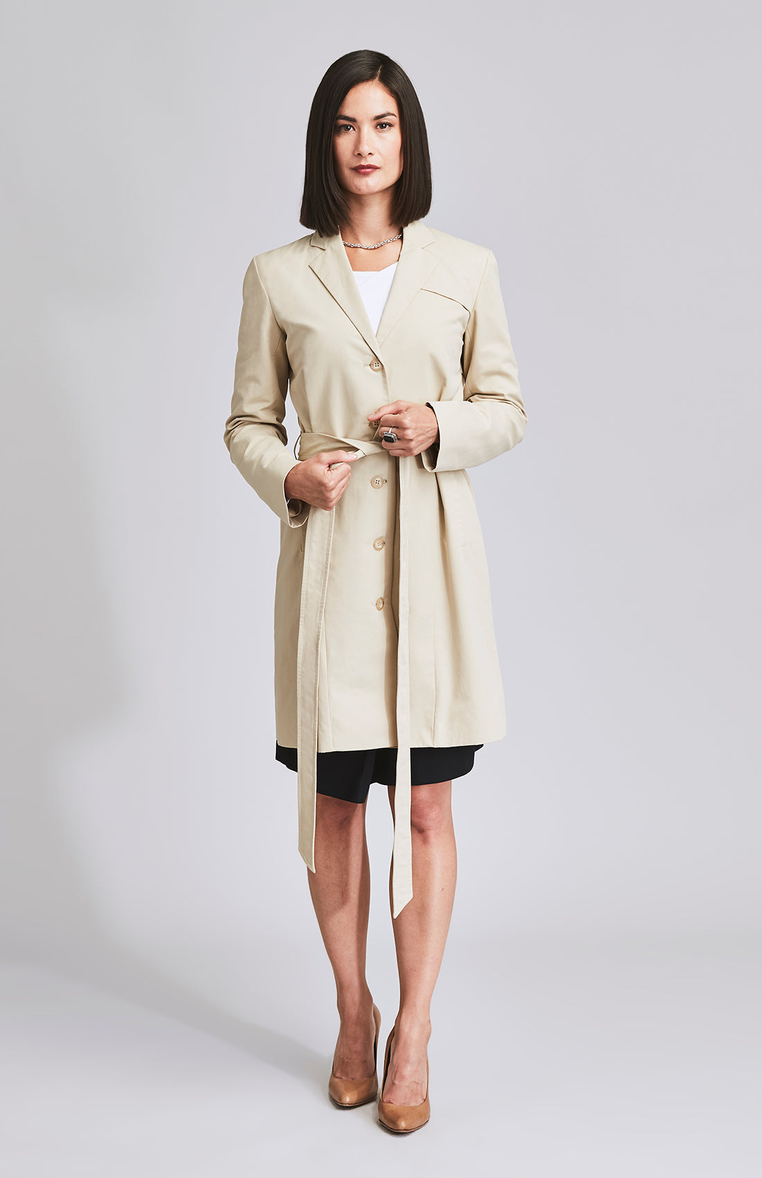 LODESTAR TRENCH COAT BEIGE