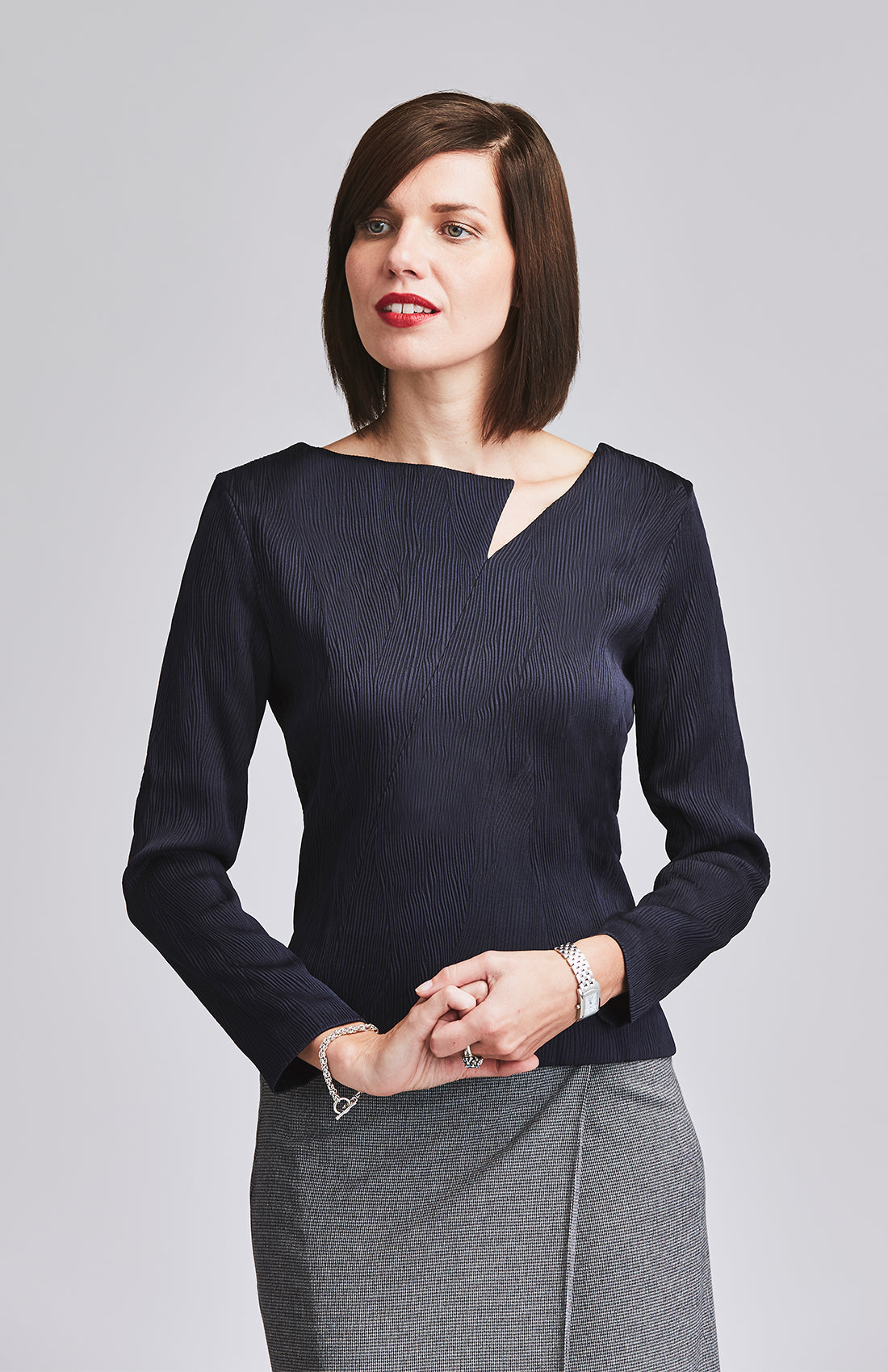 ASSIDUOUS DESK-TO-DINNER TOP NAVY