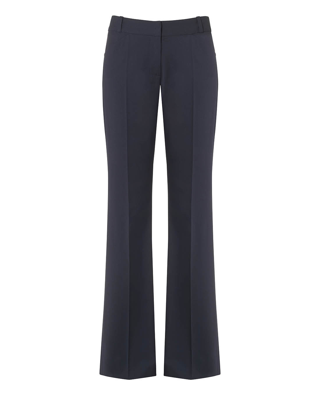 CONFIDENT TAILORED BOOTCUT SUIT TROUSER DARK NAVY