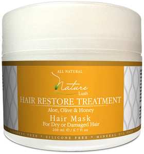 Nature Lush Natural Honey Hair Mask