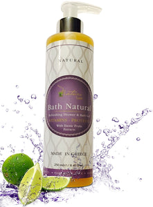 Nature Lush Bath Natural Shower and Body Gel - Sulfate Free