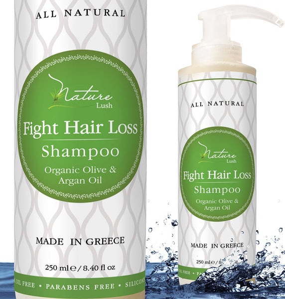 Nature Lush Organic Argan Anti-Hair Loss Shampoo