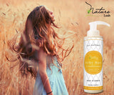 Nature Lush Organic Olive Silky Hair Conditioner - Sulfate Free Treatment