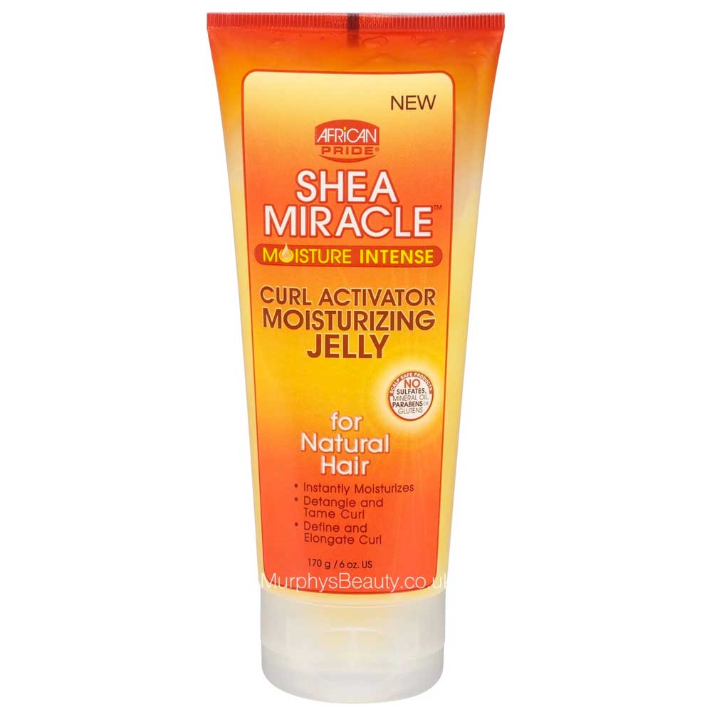 AFRICAN PRIDE SHEA BUTTER MIRACLE MOISTURE INTENSE CURL ACTIVATOR MOISTURISING JELLY 170G