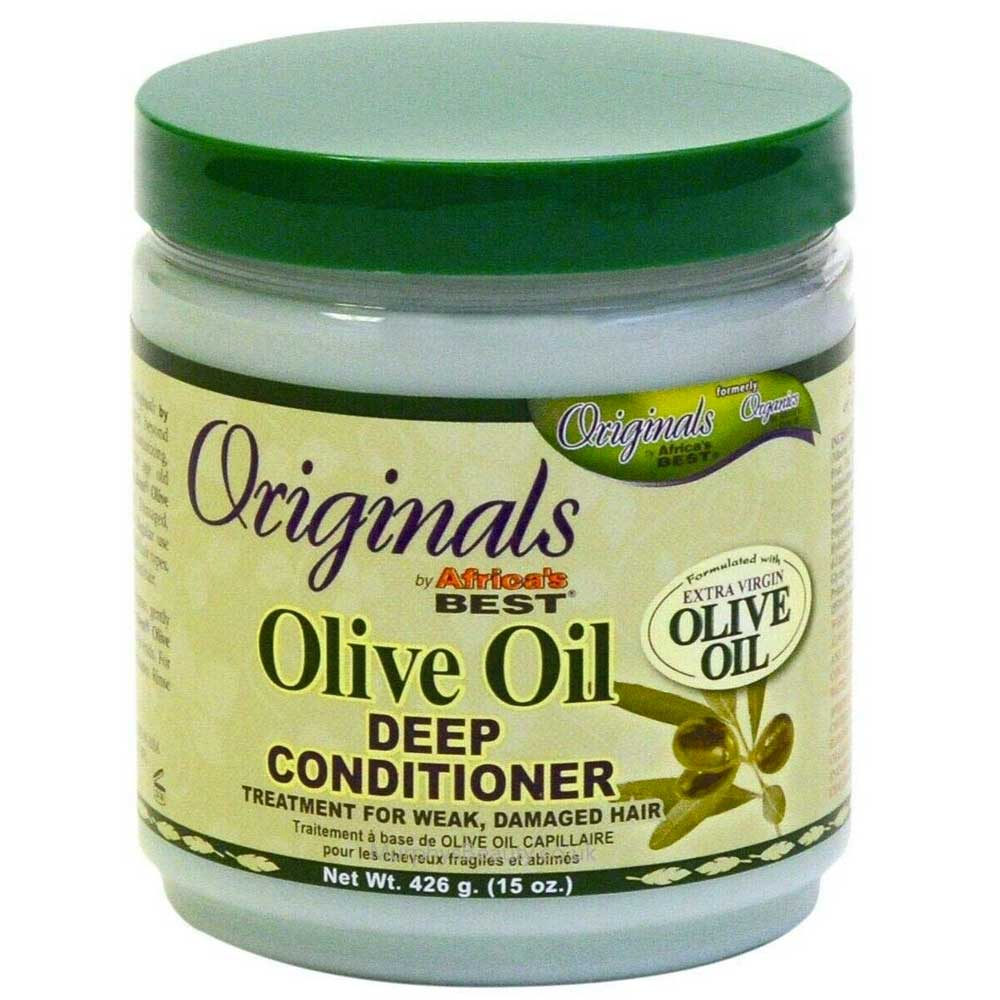 AFRICA'S BEST ORGANICS OLIVE OIL EXTRA VIRGIN CONDITIONER 426 GM