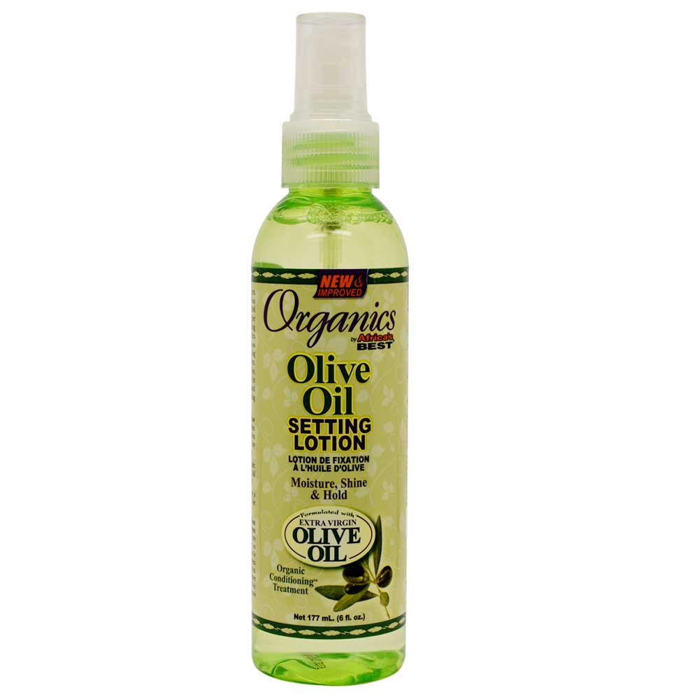 AFRICAS BEST ORGANICS OLIVE OIL SETTING LOTION 177ML