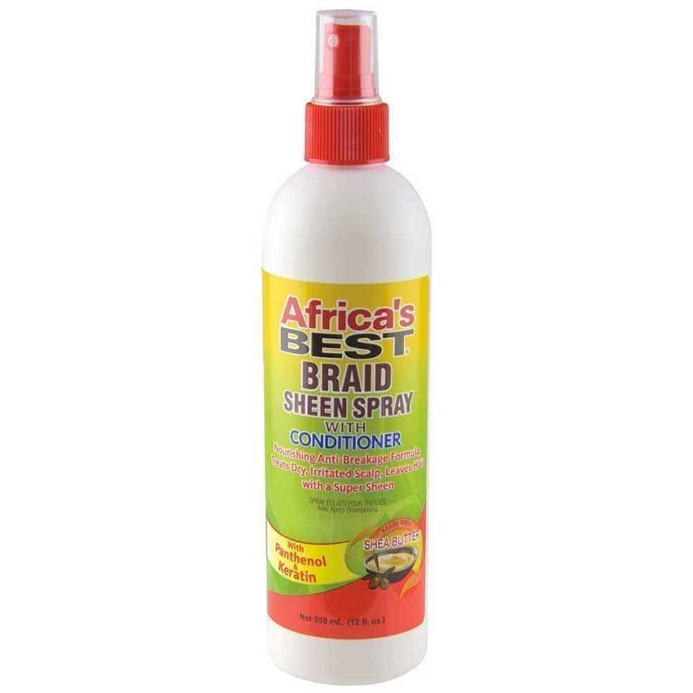 AFRICA'S BEST BRAID SHEEN SPRAY 350ML