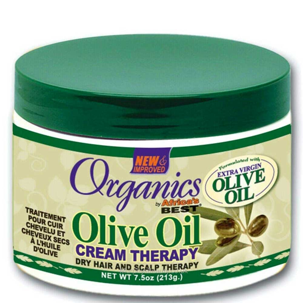AFRICA'S BEST ORGANIC OLIVE OIL CREAM THERAPY 221ML