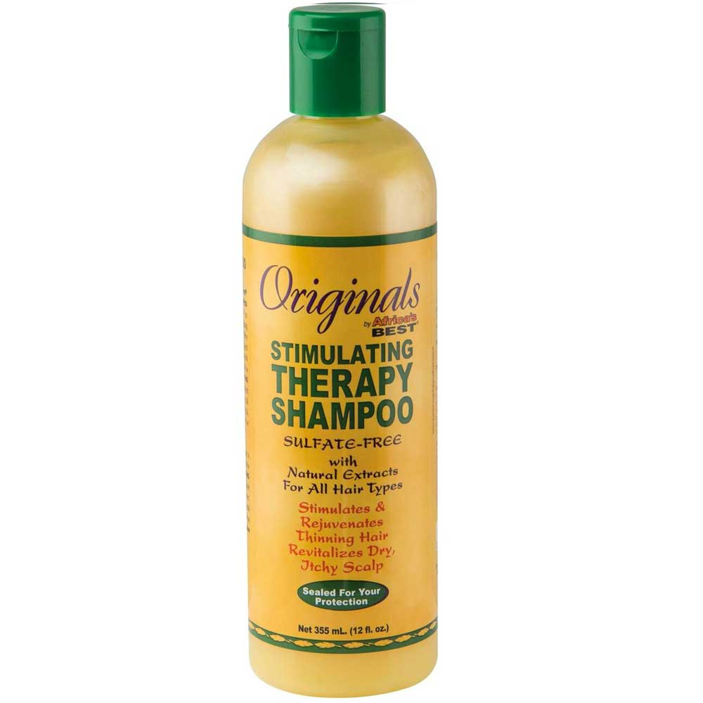 AFRICA'S BEST ORGANICS STIMULATING THERAPY SHAMPOO 355ML