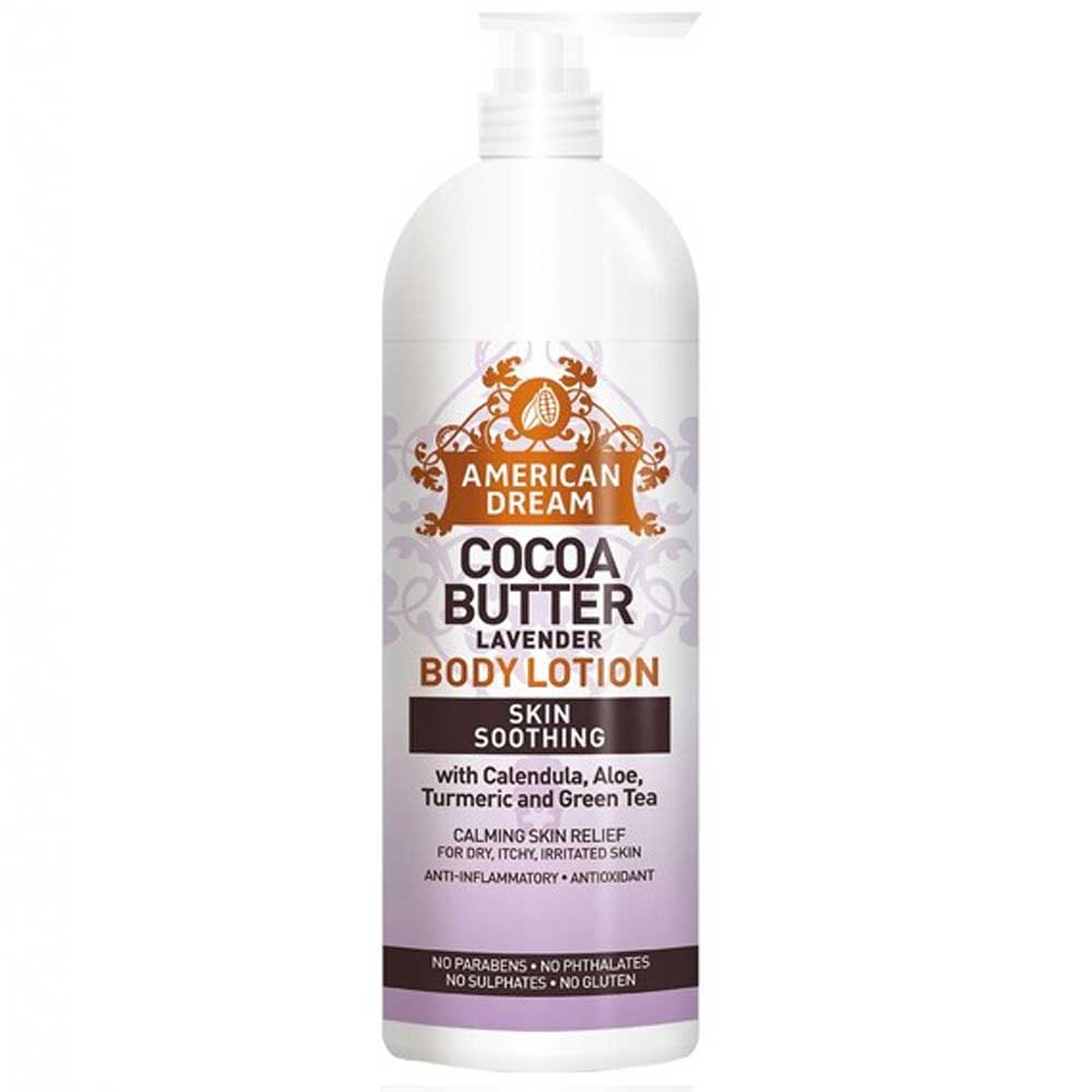 AMERICAN DREAM COCOA BUTTER BODY LOTION LAVENDER 473ML