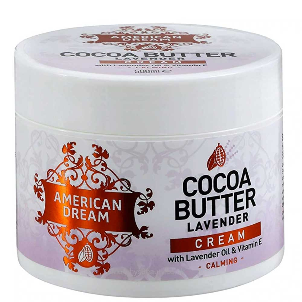 AMERICAN DREAM COCOA BUTTER CALMING LAVENDER CREAM 500ML