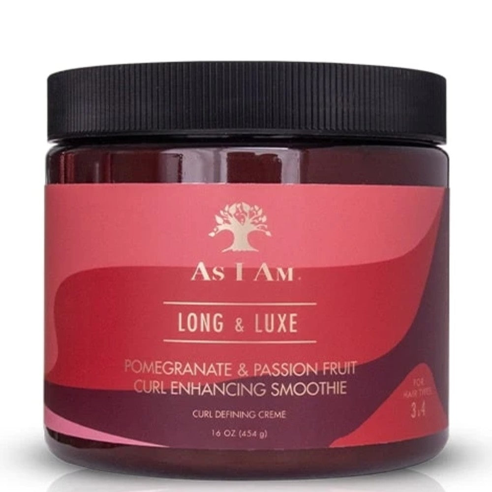 AS I AM LONG & LUXE CURL ENHANCING SMOOTHIE 454G