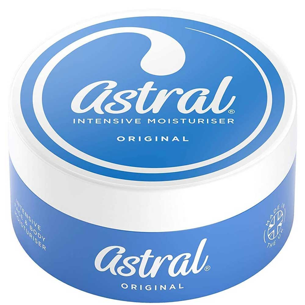 ASTRAL FACE & BODY INTENSIVE MOISTURISER CREAM 50ML