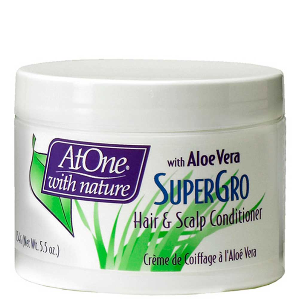 AT ONE SUPERGRO HAIR & SCALP CONDITIONER WITH ALOE VERA 154G