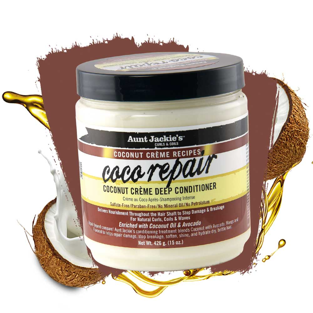AUNT JACKIES COCO REPAIR DEEP CONDITIONER 426G