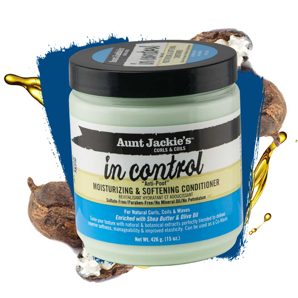 AUNT JACKIES IN CONTROL MOISTURIZING & SOFTENING CONDITIONER 426G