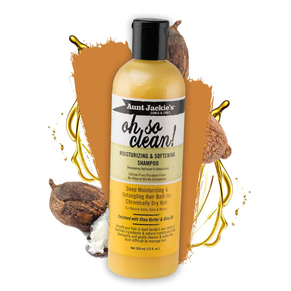 Copy of AUNT JACKIES OH SO CLEAN  MOISTURIZING & SOFTENING SHAMPOO