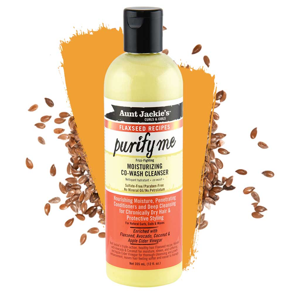 AUNT JACKIES PURIFY ME MOISTURIZING CO-WASH CLEANSER 355ML