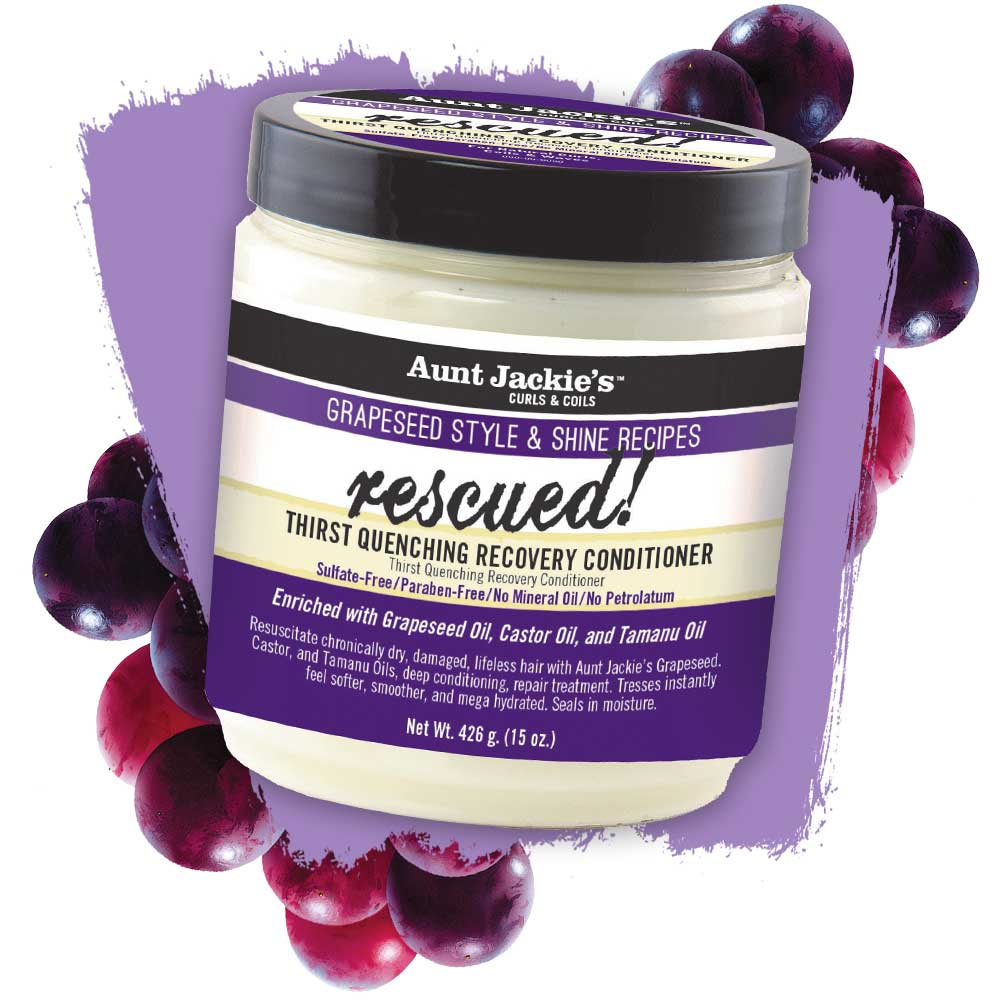 AUNT JACKIES RESCUED THIRST QUENCHING RECOVERY CONDITIONER 426G