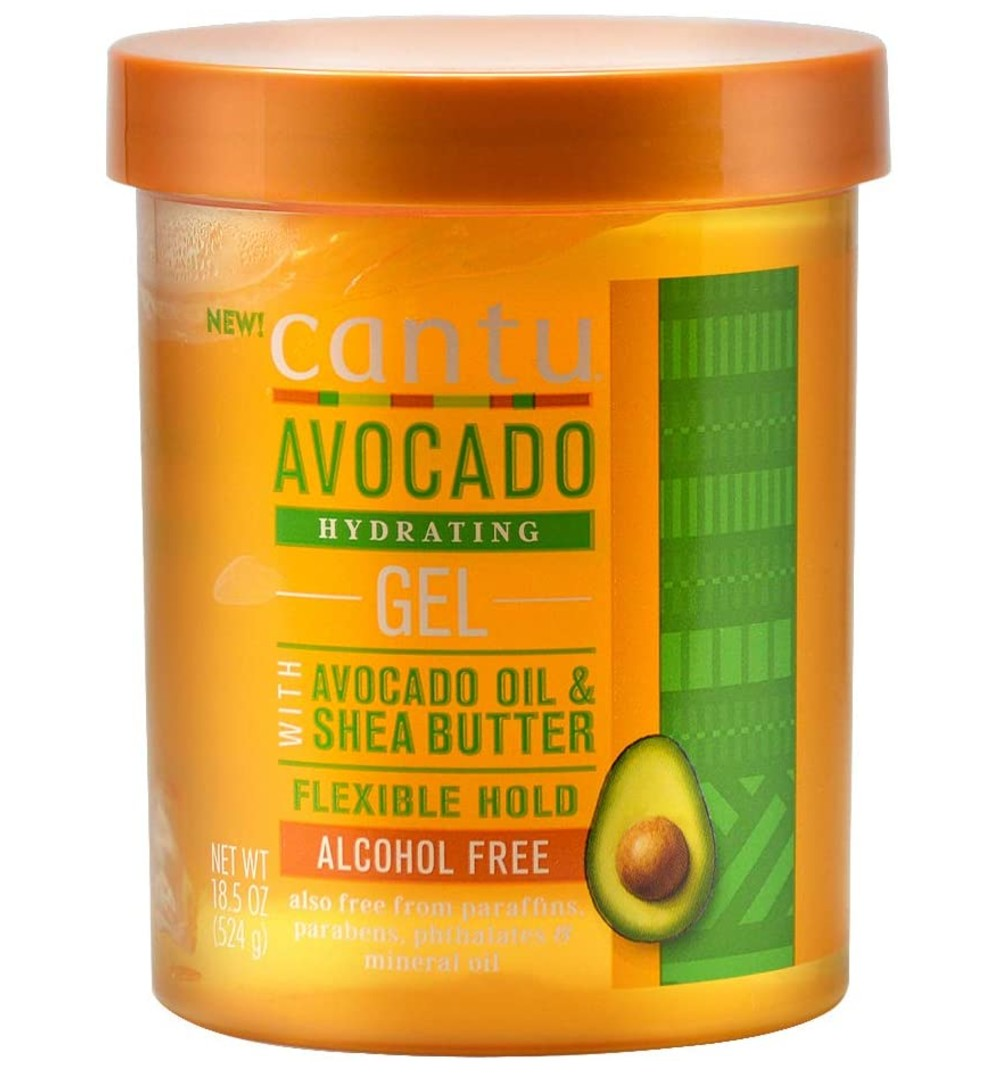 CANTU AVOCADO HYDRATING GEL ALCOHOL FREE 524G