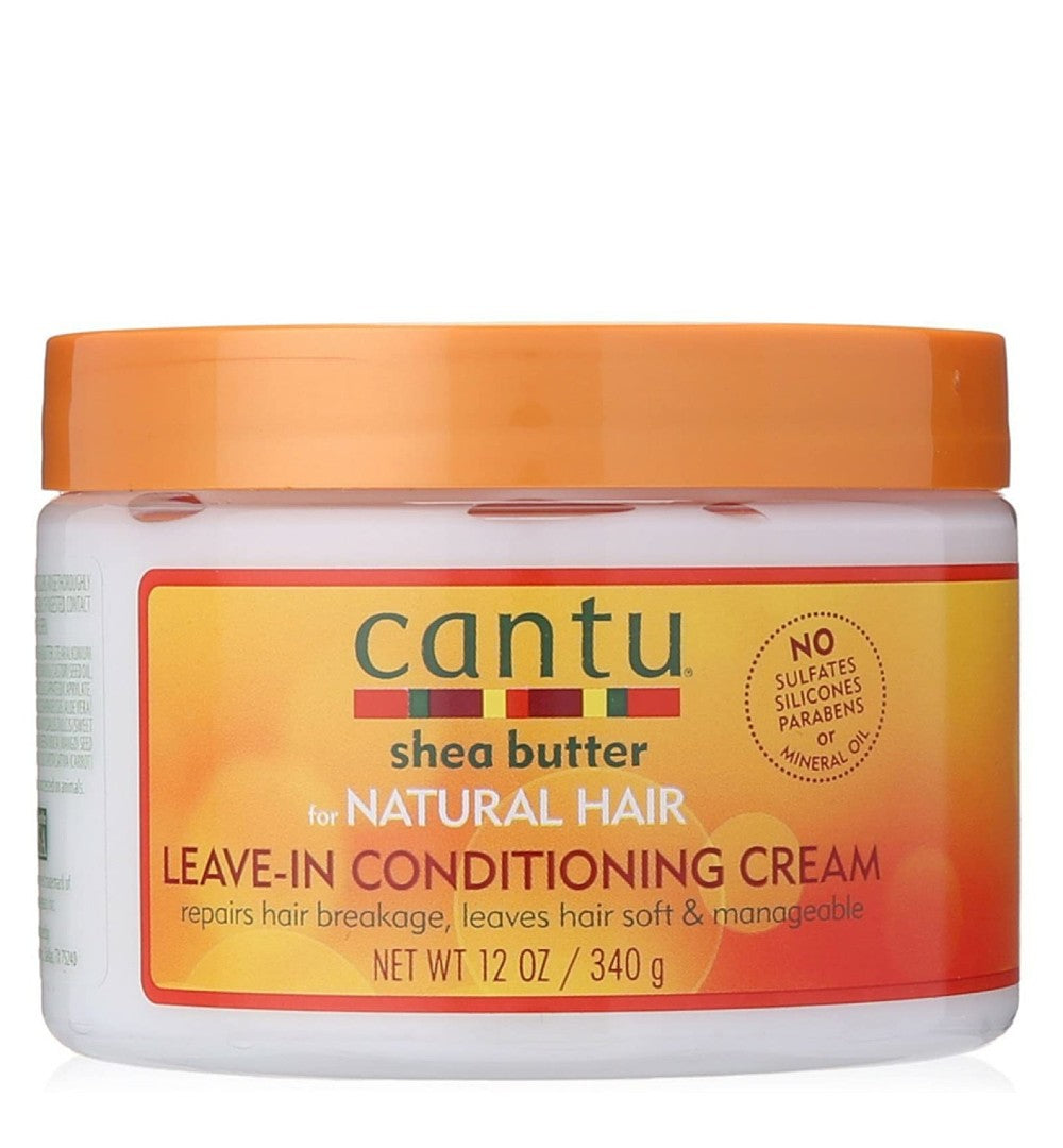 CANTU SHEA BUTTER FOR NATURAL HAIR LEAVE IN CONDITIONING REPAIR CREAM 340G