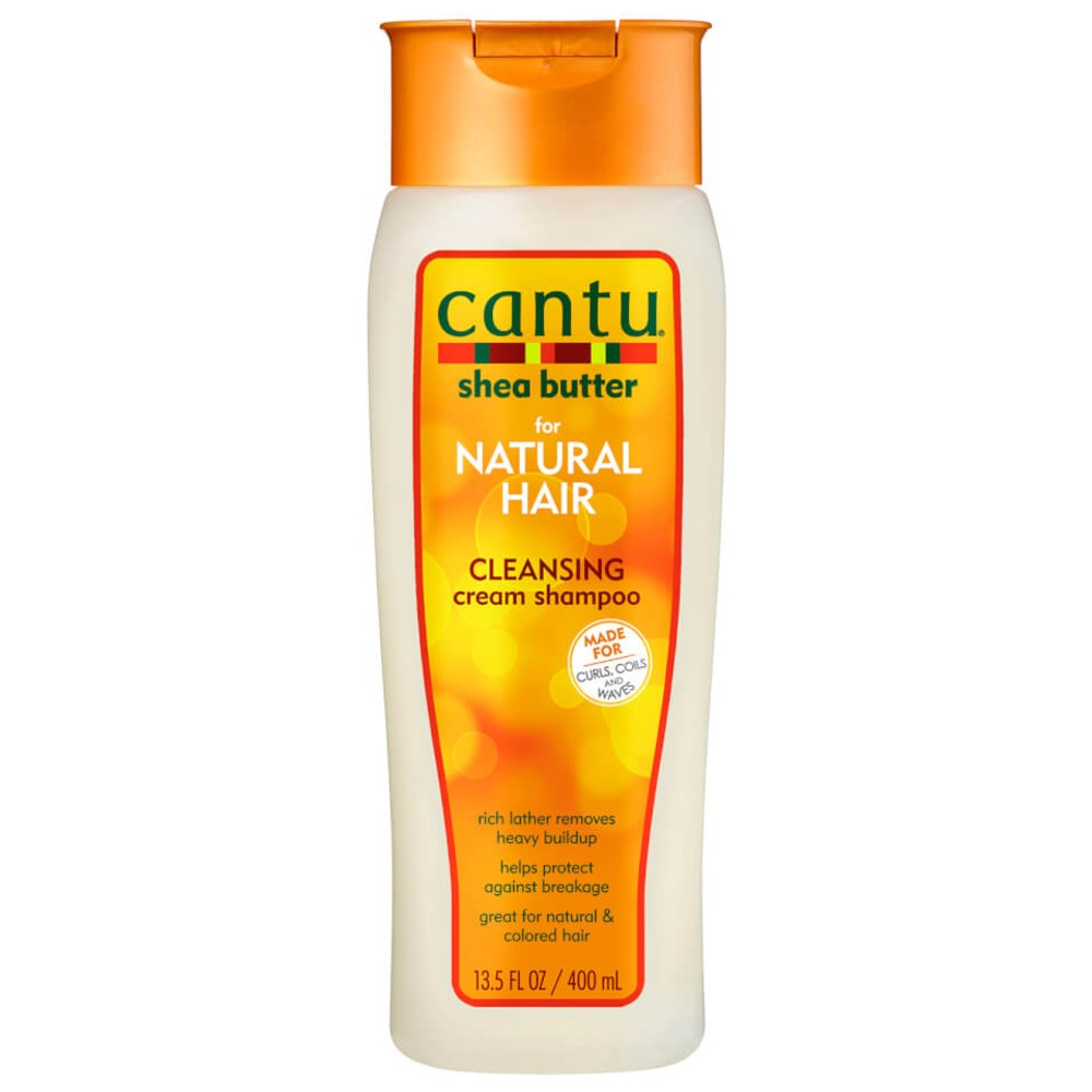 CANTU SHEA BUTTER SULFATE-FREE CLEANSING CREAM SHAMPOO 400ML