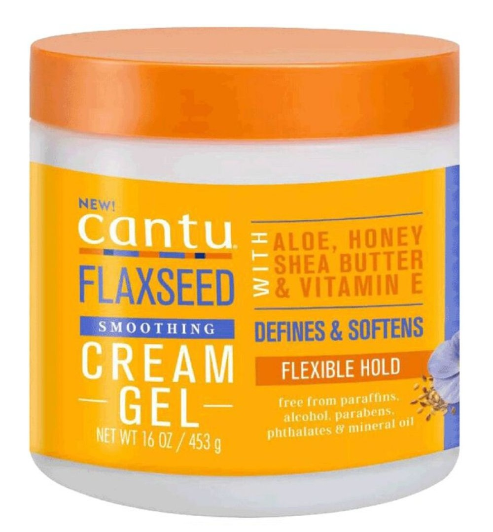 CANTU'S FLAXSEED SMOOTHING CREAM GEL 453G