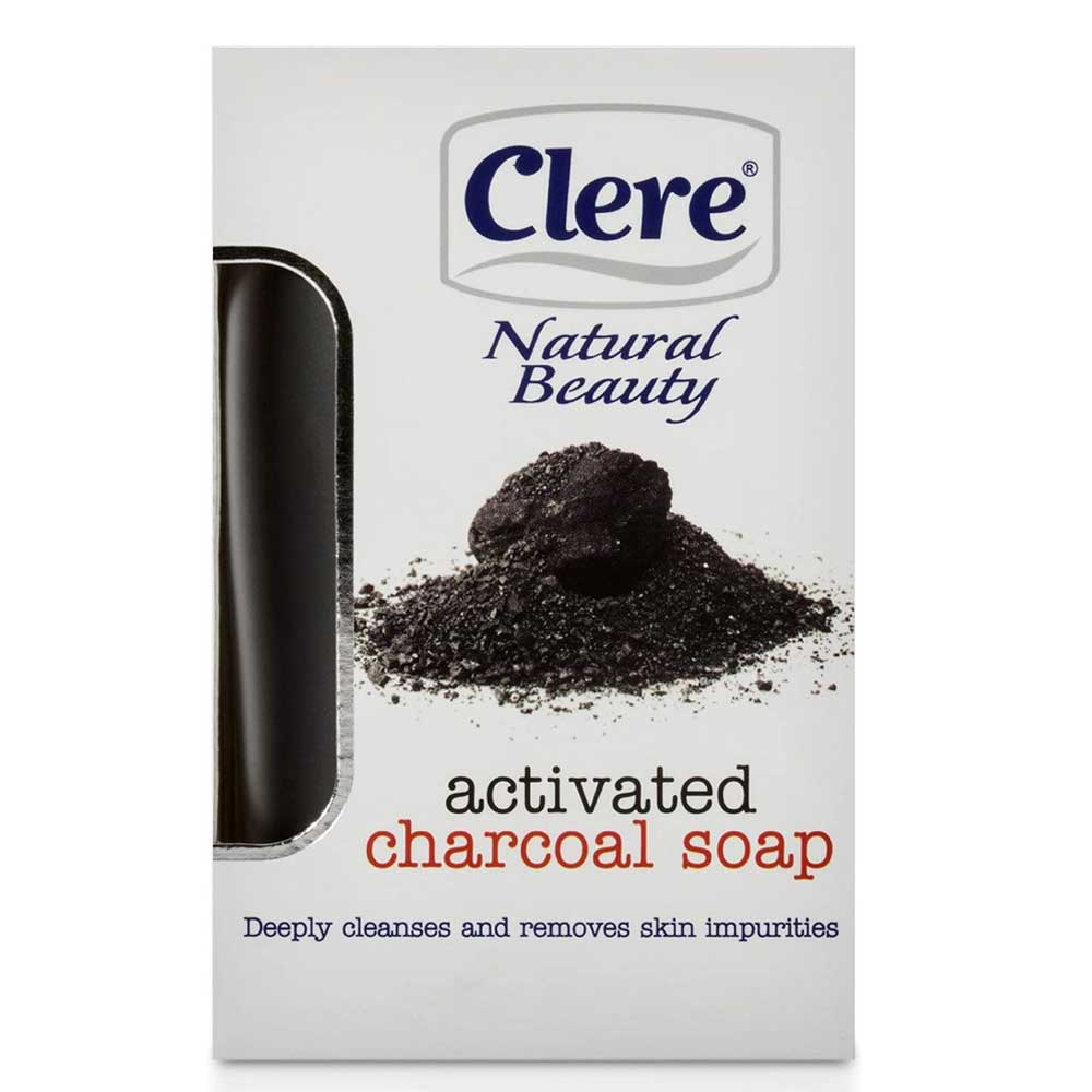 CLERE NATURAL BEAUTY AFRICAN BLACK & S/BUTTER SOAP 150G