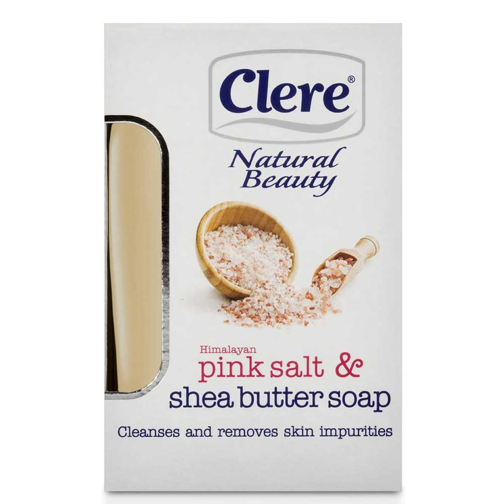 CLERE NATURAL BEAUTY RAW SHEA BUTTER SOAP