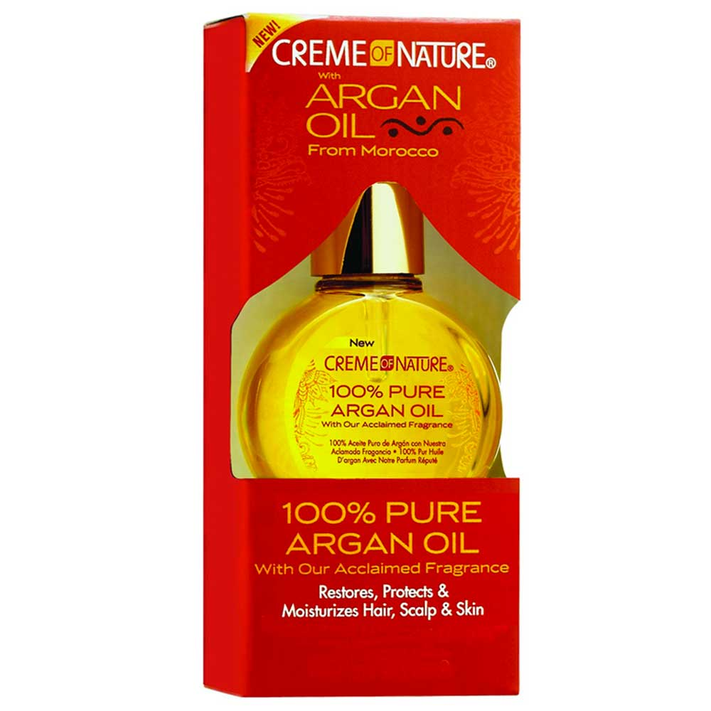 CREME OF NATURE ARGAN 100% PURE ARGAN OIL