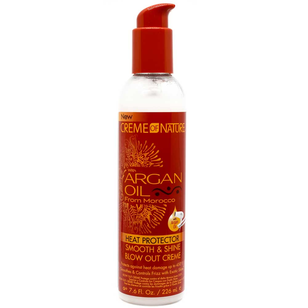CREME OF NATURE ARGAN OIL HEAT PROTECTOR BLOW OUT