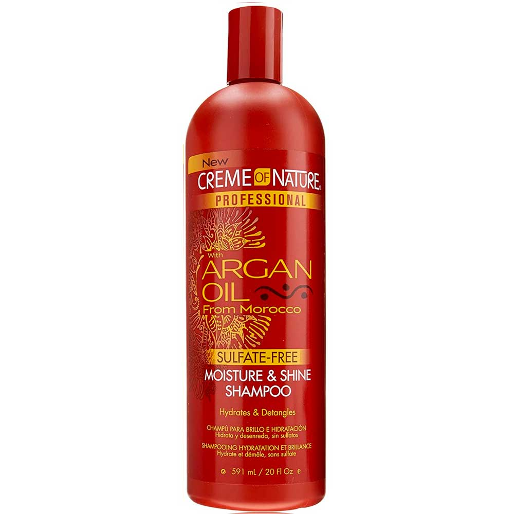CREME OF NATURE ARGAN OIL M&S SULFATE FREE SHAMPOO