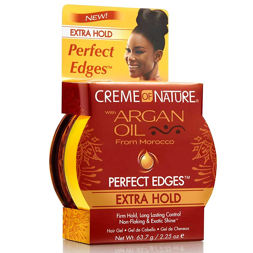 CREME OF NATURE ARGAN PERFECT EDGES EXTRA HOLD 2.25OZ