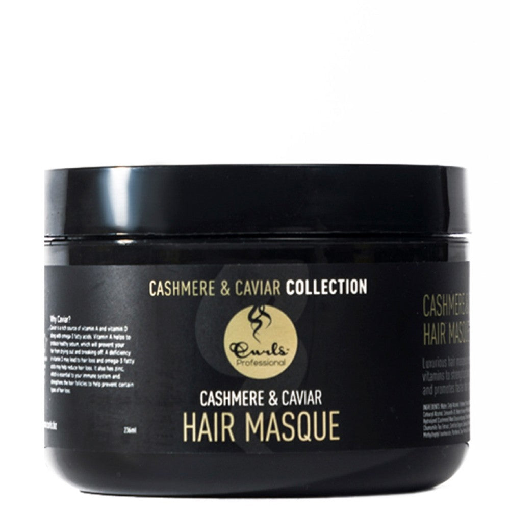 CURLS CASHMERE + CAVIAR HAIR MASQUE (DEEP CONDITIONER)  236ML