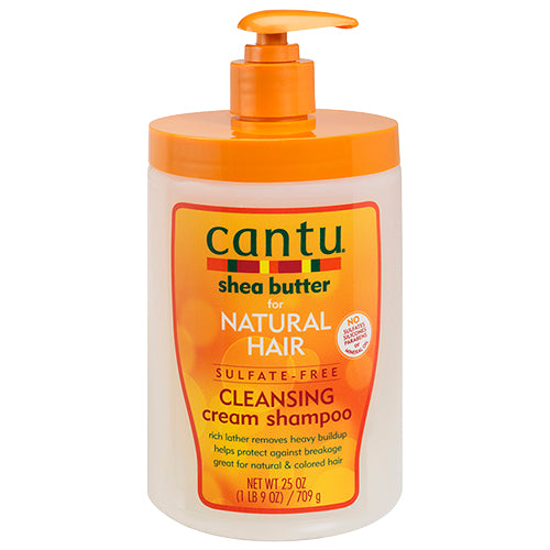 Cantu Shea Butter for Natural Hair Sulfate-Free Cleansing Cream Shampoo 709G