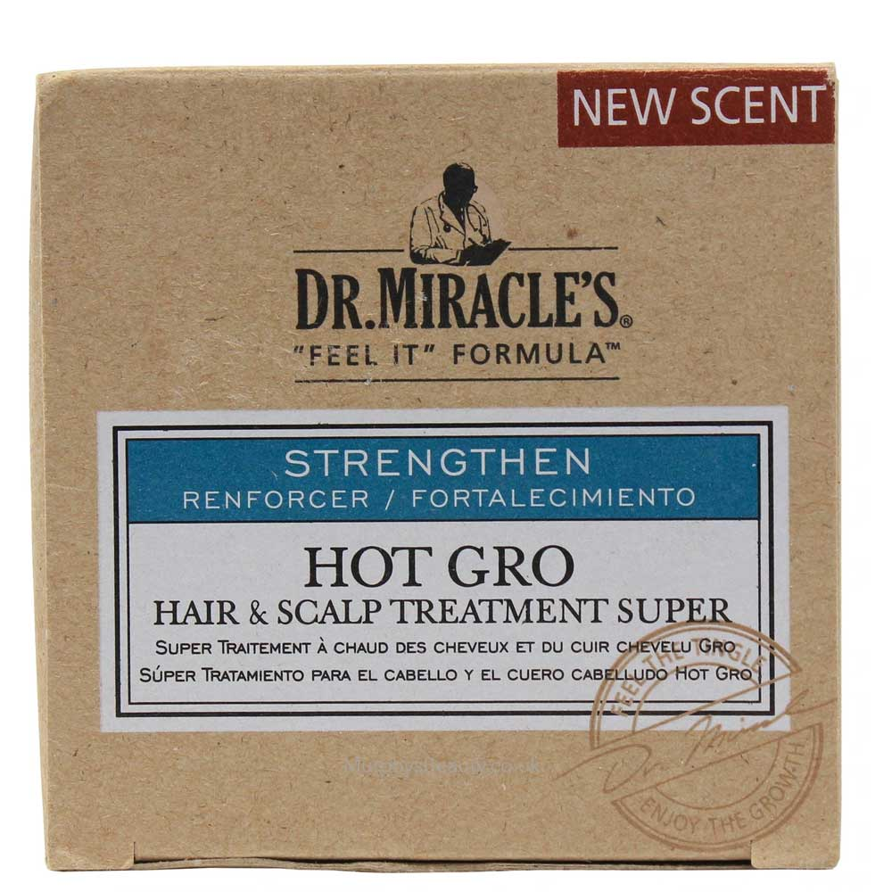 DR.MIRACLES HOT GRO HAIR SCALP TREATMENT SUPER 4OZ