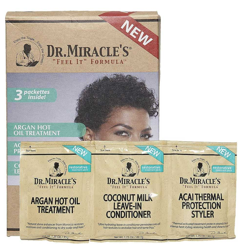 DR.MIRACLE'S RESTORATIVE TREATMENT PACK 4.75OZ