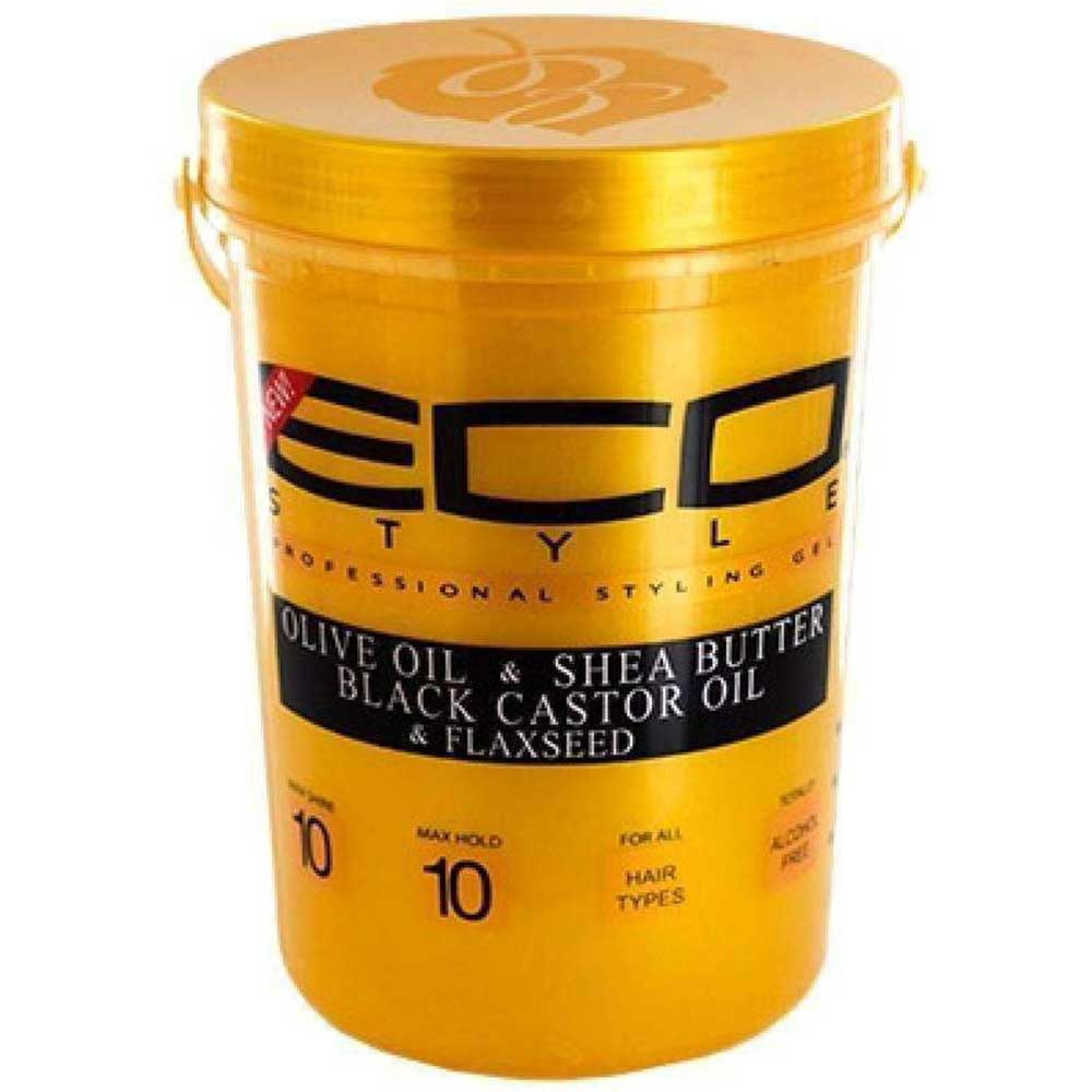ECO STYLE GOLD OLIVE OIL & SHEA BUTTER STYLING GEL 5LB
