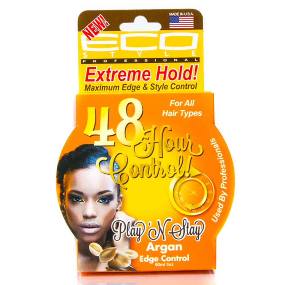 ECO STYLE PLAY 'N STAY EDGE CONTROL ARGAN OIL
